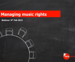 Music Procurement Webinars At The WFA